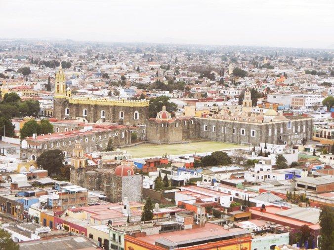 View of Cholula