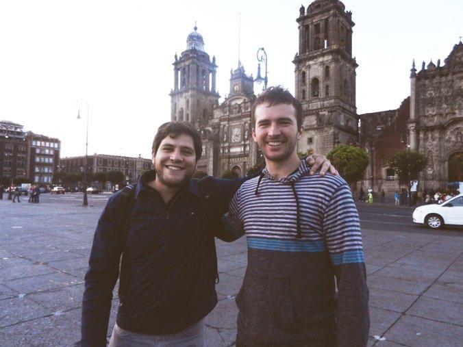 Chris and Santiago