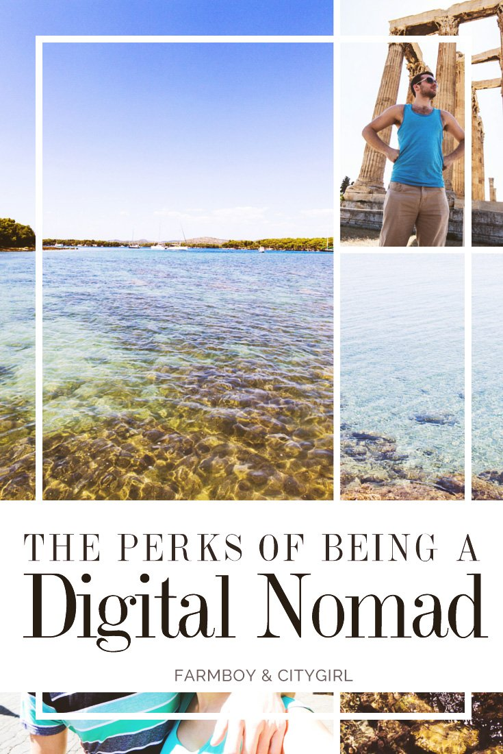 Perks of Being a Digital Nomad