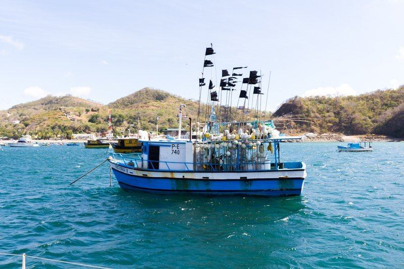 Fisherman Boat in San Juan Del Sur
