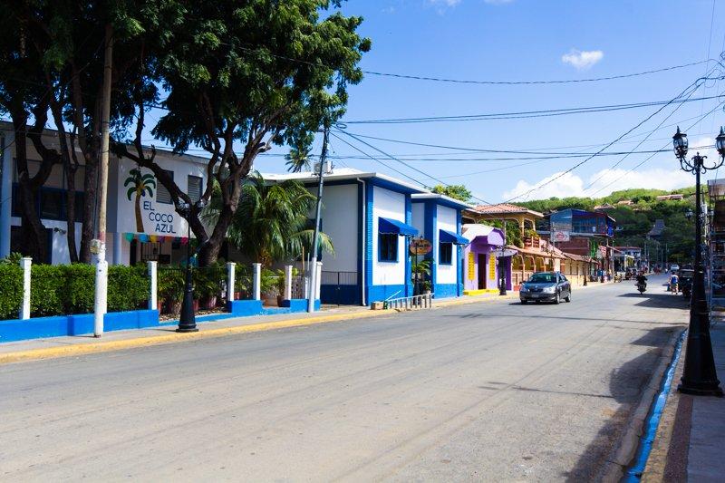 Street in San Juan Del Sur