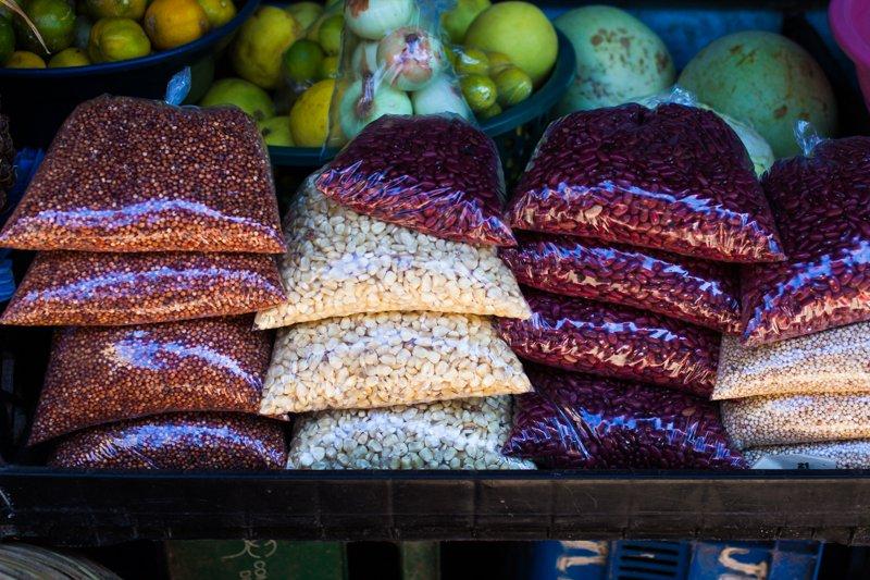 Bag of beans in San Juan Del Sur