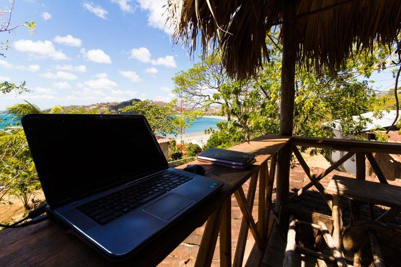 View of the San Juan Del Sur Bay