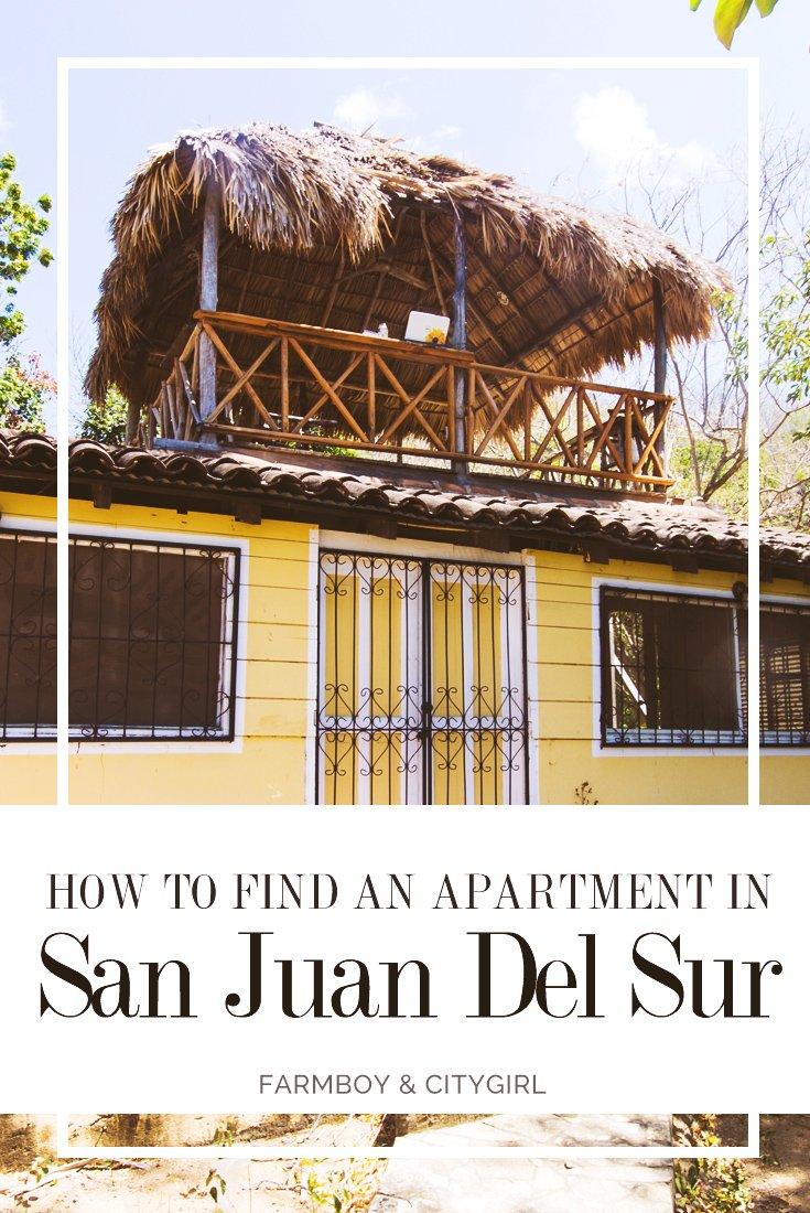 How To Find An Apartment In San Juan Del Sur | FarmBoy & CityGirl