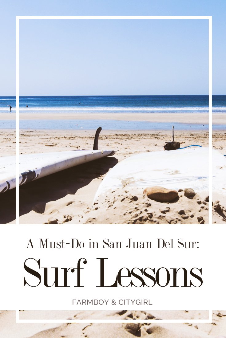 Learning to Surf: A Must-Do In San Juan Del Sur | FarmBoy & CityGirl