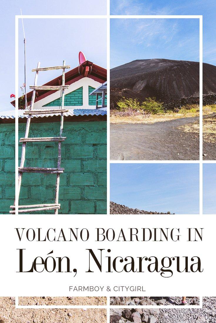 Volcano Boarding in León, Nicaragua | FarmBoy & CityGirl