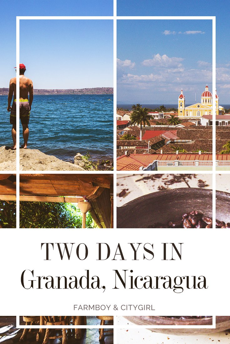 Two Days in the Colorful City of Granada, Nicaragua | FarmBoy & CityGirl