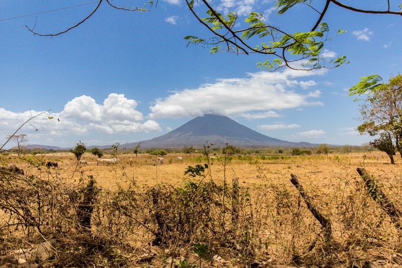 Volcano on Ometepe