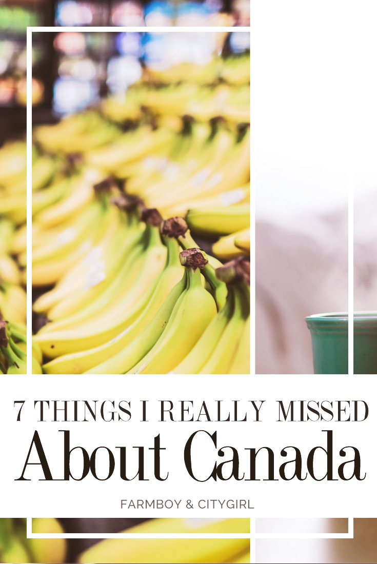 7 Things I Really Missed About Canada | FarmBoy & CityGirl