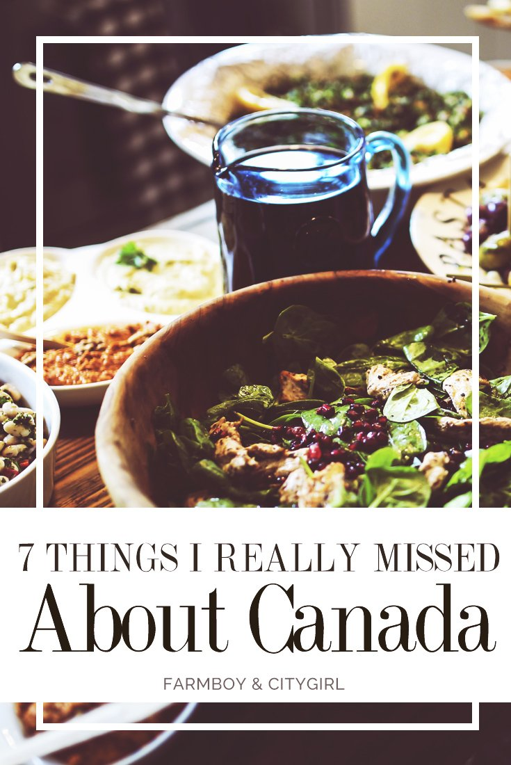 A7 Things I Really Missed About Canada | FarmBoy & CityGirl
