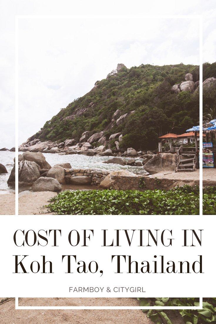 Cost of Living in Koh Tao, Thailand | FarmBoy & CityGirl
